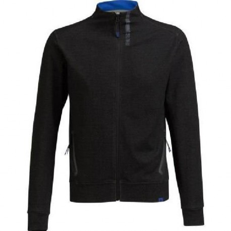ATHLI-TECH Sweat Charlot - Homme - Zip - Noir Chine
