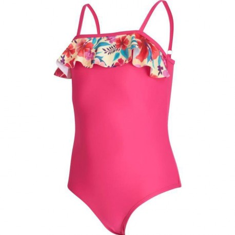 UP2GLIDE Maillot 1 Piece Fille Carline - Rose