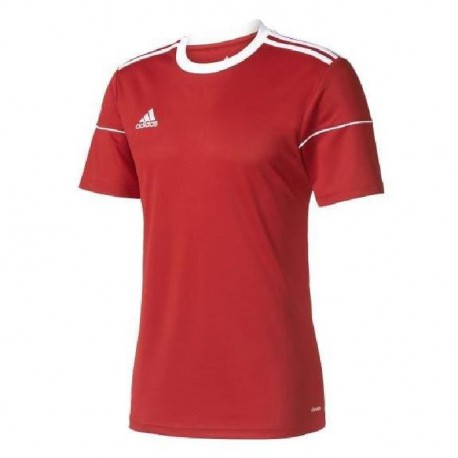 ADIDAS SQUADRA 17 JSY SS Maillot homme - Rouge
