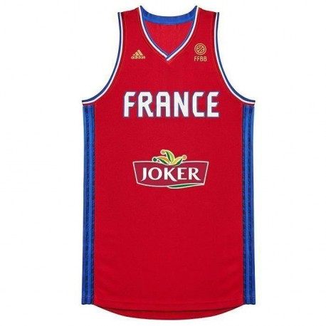 ADIDAS Maillot de Basketball Ffbb R Homme
