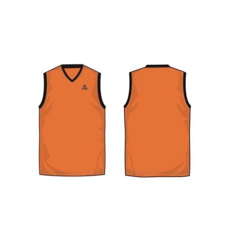 PEAK Maillot Streetball Orange / Noir