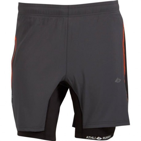 ATHLI-TECH Short Running Christophe - Anthracite