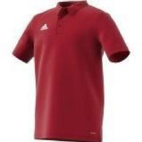 ADIDAS COREF CL POL Y Polo junior - Rouge