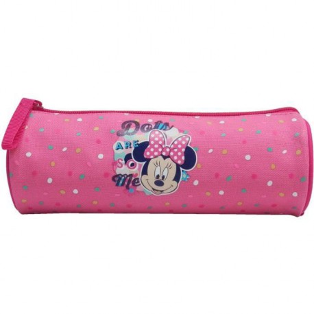 MINNIE Trousse Tube avec zippe 1 compartiment