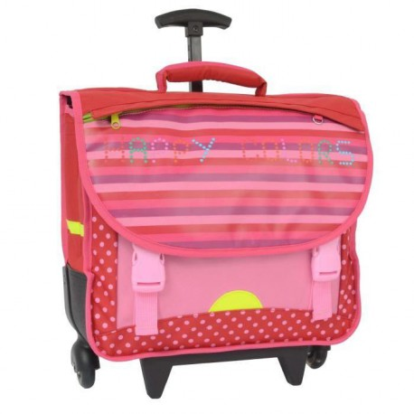Cartable a roues lumineuses Fille