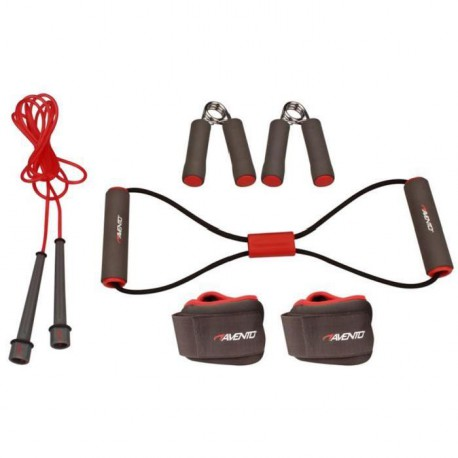 AVENTO Pack fitness 6 pieces - Rose