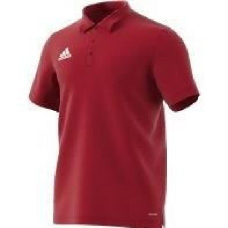 ADIDAS CORE Polo homme - Rouge
