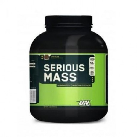 OPTIMUM NUTRITION Pot Serious Mass Fraise - 2,72kg