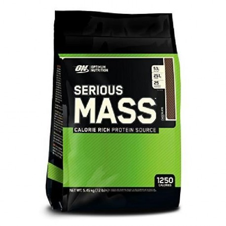 OPTIMUM NUTRITION Pot Serious Mass Vanille - 5,6kg
