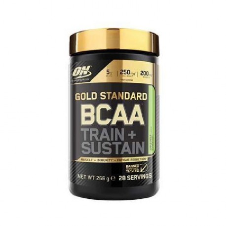 OPTIMUM NUTRITION Pot BCAA Train & Sustain Pomme / Poire - 266g