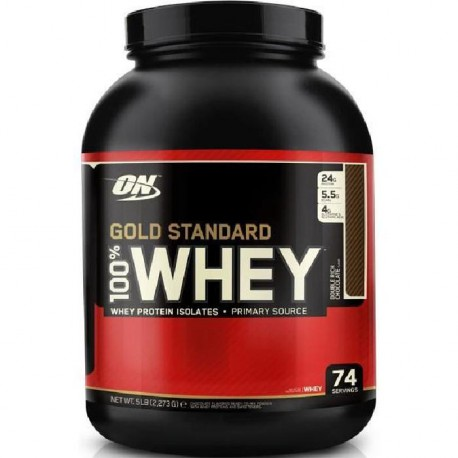 OPTIMUM NUTRITION Pot 100% Whey Gold Standard Vanille Française - 908g