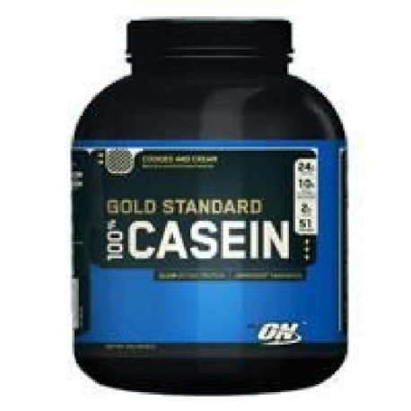 OPTIMUM NUTRITION Pot 100% Casein Vanille Crémeuse - 1,81kg