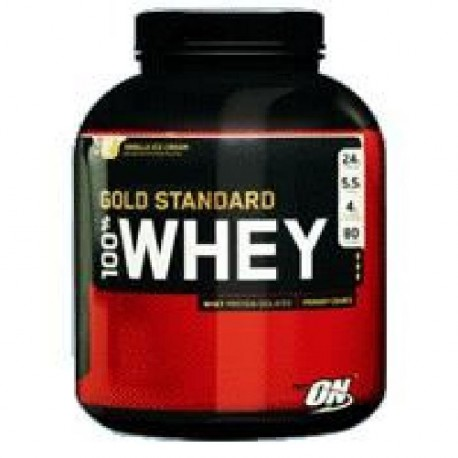 OPTIMUM NUTRITION Pot 100% Whey Gold Standard Glace Vanille - 2,27kg