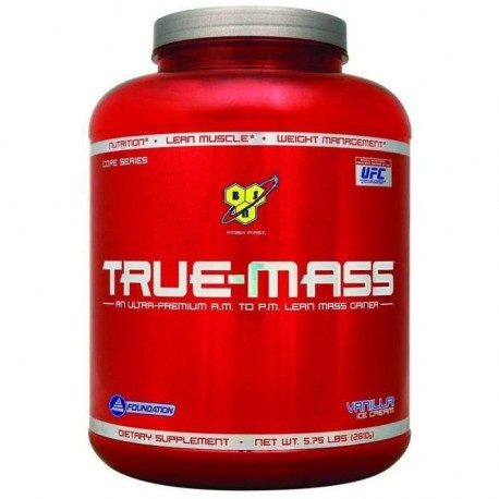 BSN Pot True Mass Vanille - 2,64kg