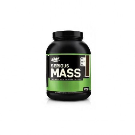 OPTIMUM NUTRITION Pot Serious Mass Vanille - 2,72kg