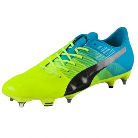 PUMA Chaussures de Football Evo Power 1.3 Mixed SG Homme