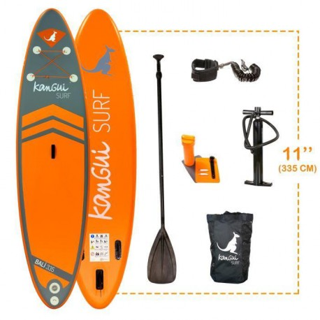 KANGUI Stand Up Paddle BALI 335cm Pack complet SUP BALI 335cm
