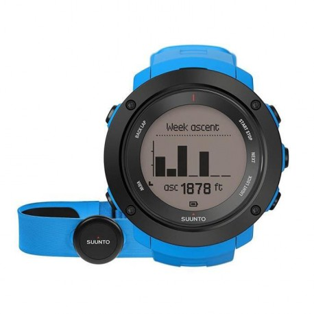 SUUNTO Montre AMBIT3 Vertical Bleue HR