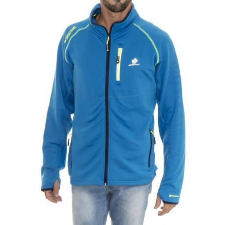 NORTHVALLEY Sweat Full Zip Polarshell Fusio Homme Bleu Cobalt