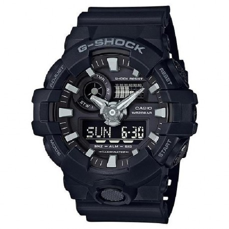 CASIO Montre Quartz G-Shock GA-700-1BER Homme