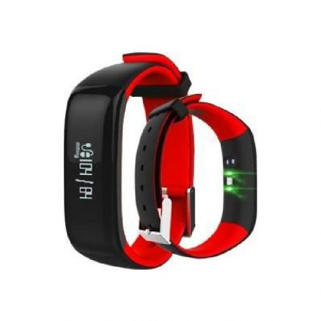 WEE'PLUG Bracelet sport connecté Bluetooth SB18 ROUGE