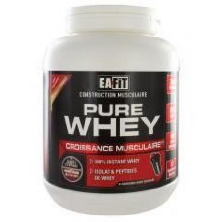 EAFIT Pure Whey Protein - Chocolat Noir Extra - 750 g