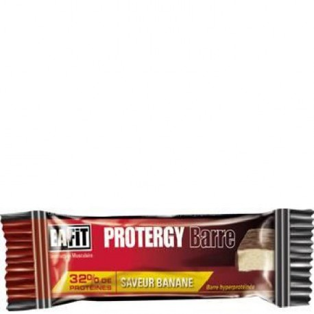 EAFIT Lot de 24 Barres Protergy - Banane - 46 g