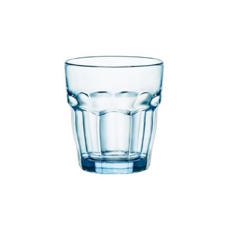 BORMIOLI Lot de 6 verres gobelets rock bar Lounge 27 cl bleu