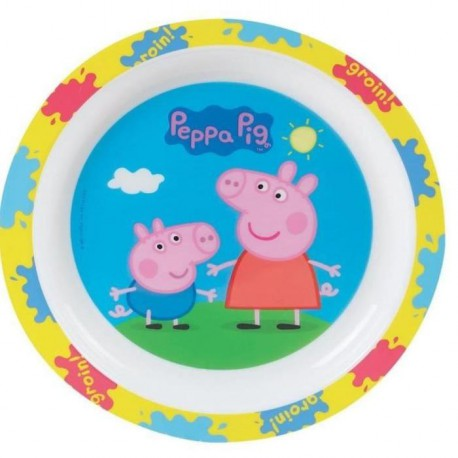 Peppa Pig Assiette micro-ondable