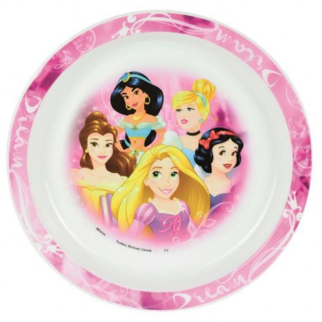 Disney Princesses Assiette micro-ondable