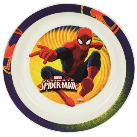 Spiderman Assiette micro-ondable