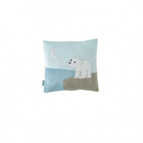 DOMIVA Coussin 30x30 cm FLOCON L'OURSON