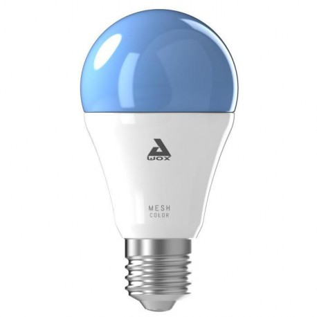 AWOX SMARTLIGHT Ampoule LED connectée E27 60 W RGB blanc