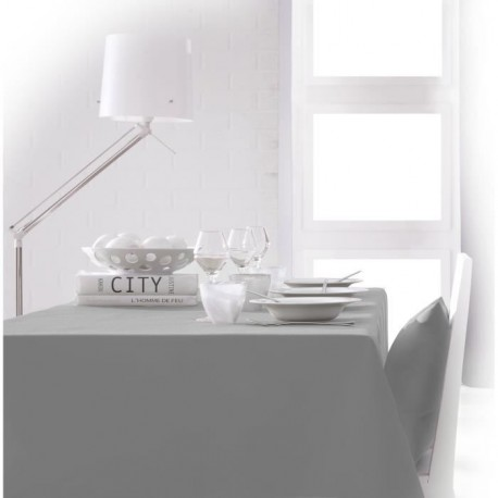 TODAY Nappe rectangulaire 140x200cm - Zinc