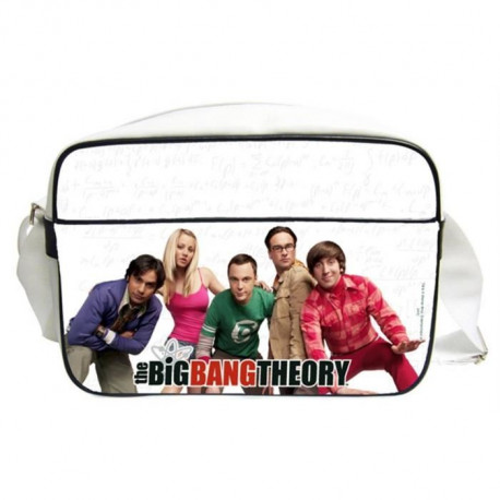 THE BIG BANG THEORY Sac bésace Personnages en PVC