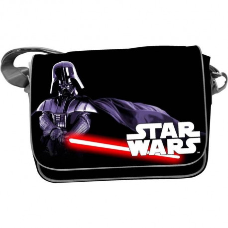WTT STAR WARS Sac Besace - Darth Vader - Noir