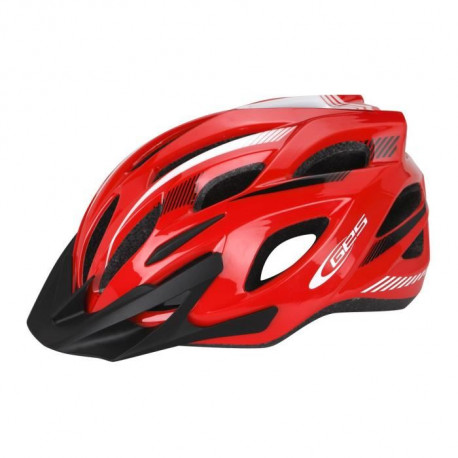 GES Casque adulte RAY - Rouge