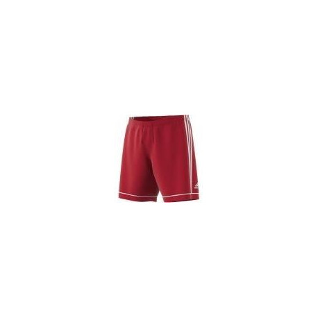 ADIDAS SQUAD 17 SHO Short de football junior - Rouge / Blanc