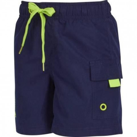 UP2GLIDE Short Bain Fille Cyan - Marine