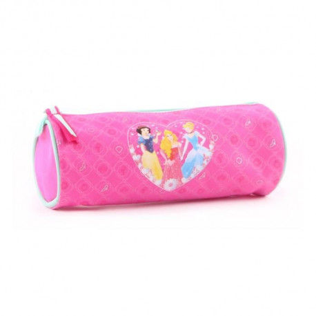 PRINCESSES DISNEY Trousse Fille - 7cm - Rose