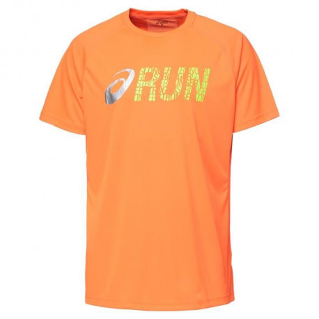 ASICS Graphic Tee shirt manches courtes Homme - Orange