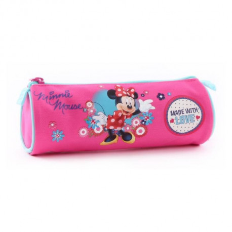 MINNIE MOUSE Trousse - 7cm - Fuchsia
