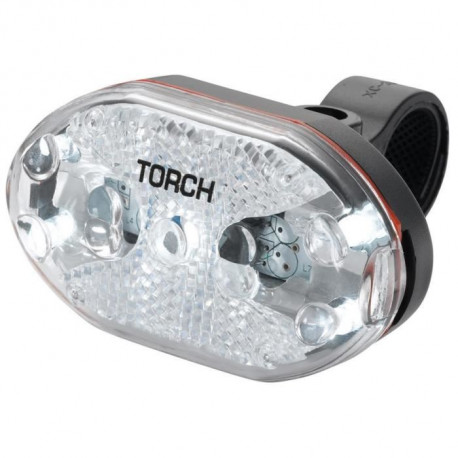 TORCH Eclairage avant White Bright 5X - Noir