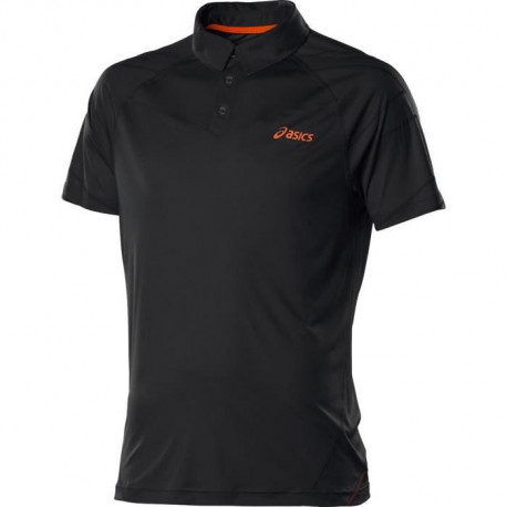 ASICS Polo Tennis Manches Courtes Resolution Homme