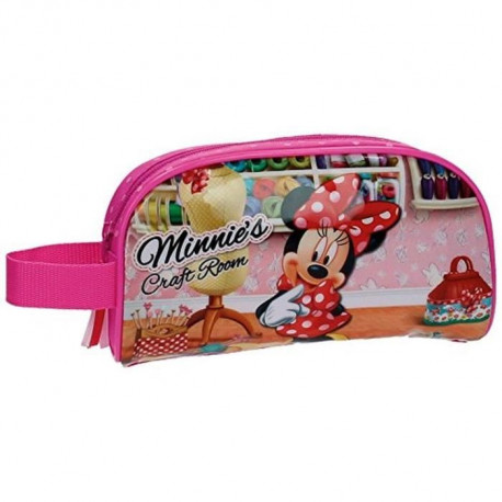 MINNIE Disney Vanity Souple 21cm Rose