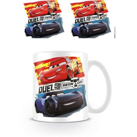 Mug Pyramid - Cars Duel for the Piston Cup