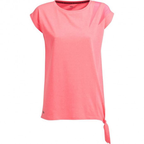 ATHLI-TECH Maillot Carry - Manches Courtes - Rose