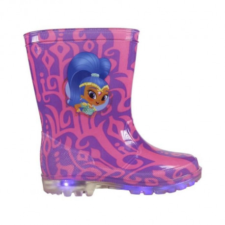 SHIMMER AND SHINE Bottes de pluie lumineuses - Fille - Lilas