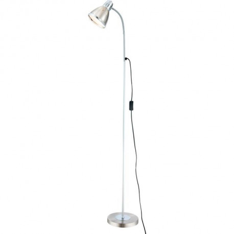 GLOBO LIGHTING Lampadaire avec Interrupteur - 420x1510 - Chrome nickel mat