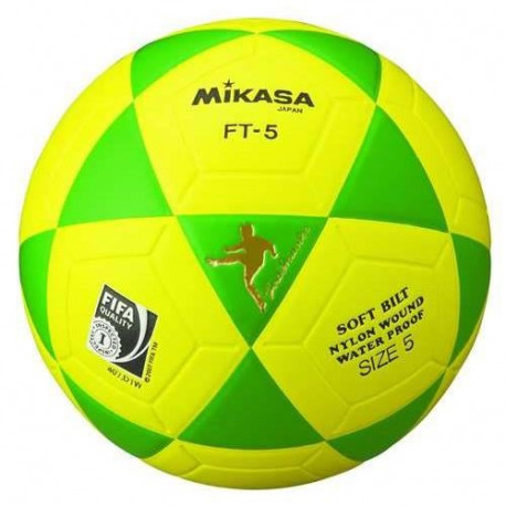 MIKASA Ballon de Football FT-5 - Jaune / Vert